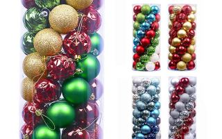 Top 10 Best Christmas Ball Ornaments Decoration in 2019 Review