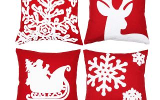 Top 5 Best Christmas pillow covers in 2020 Review.