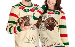 Top 5 best Men funny ugly Christmas sweater.