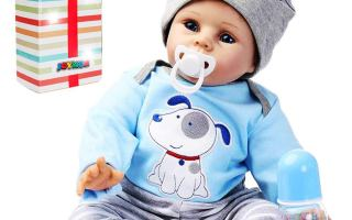 Top 5 best mini silicone baby boy in 2019 review