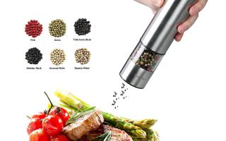 Top 5 best electric pepper mill in 2019 review