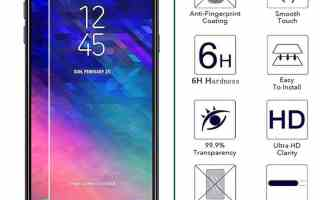 Top 5 best Samsung Galaxy A6 Screen Protector in 2019 review