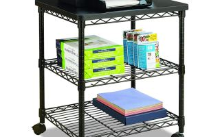 Top 5 best large printer stand in 2019 review