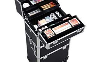 Top 5 best professional makeup artist cases in 2019 reviews