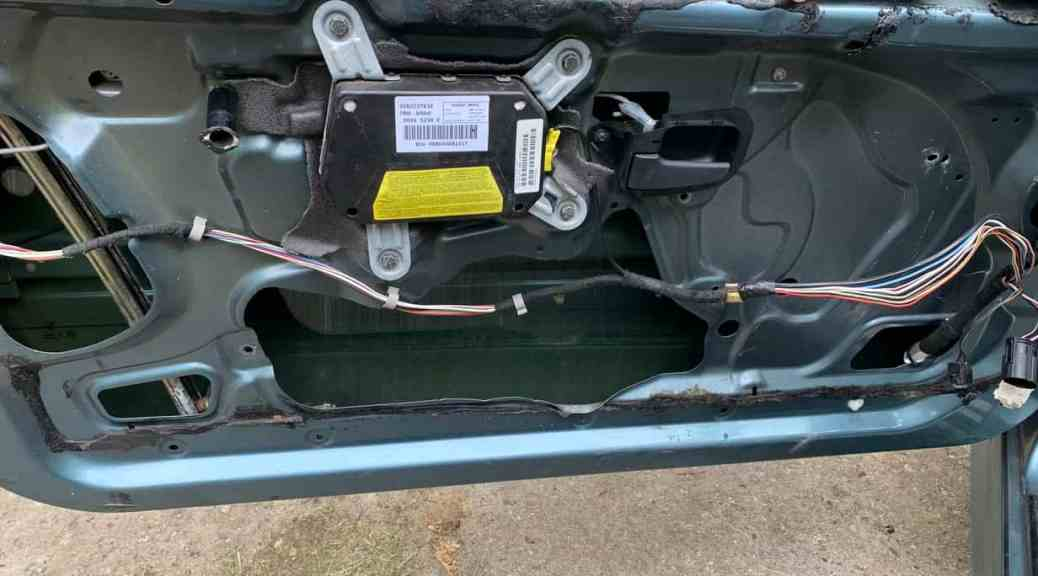BMW E36 Window Not Working Diagnosis and Repairs - A Better BMW