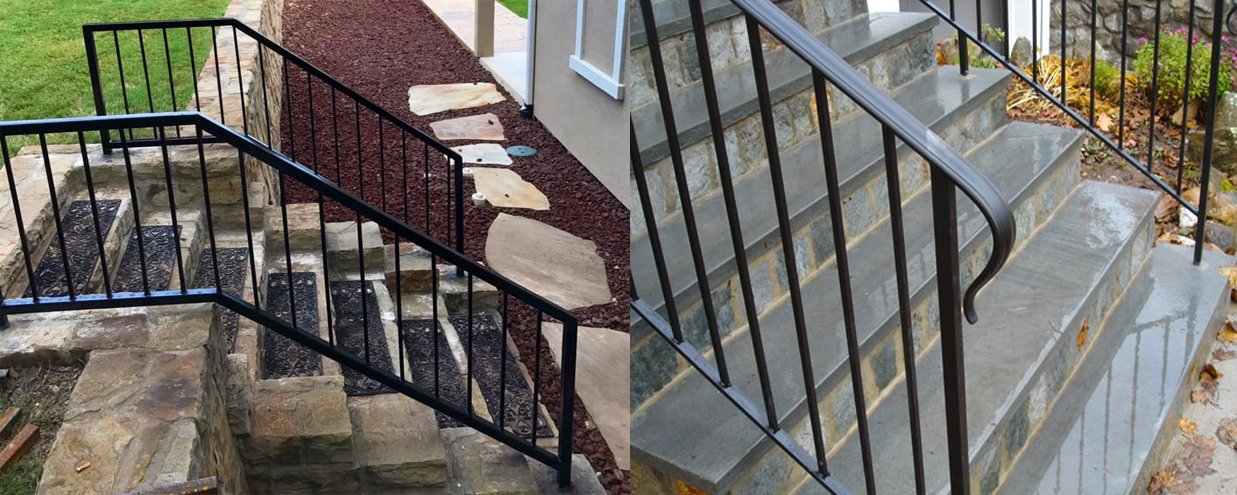 Handrail Installation Companies Custom Handrails Stairway Railings   Handrail Companies Near Me   Metal   Glass Handrail   Staircase   Deck Railing   Stair Treads