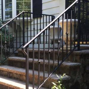 Handrail Installation Companies Custom Handrails Stairway Railings | Steel Handrails For Steps | Baluster | Aluminum | Steel Tube | Price | Designing