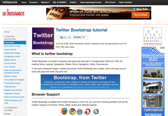 Twitter Bootstrap Tutorial