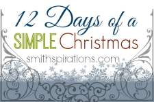12 Days of a Simple Christmas