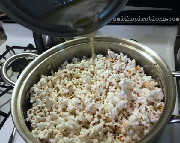 Finishing Popcorn