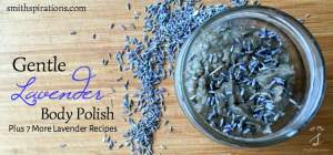 Gentle Lavender Body Polish (Plus 7 More Lavender Recipes)