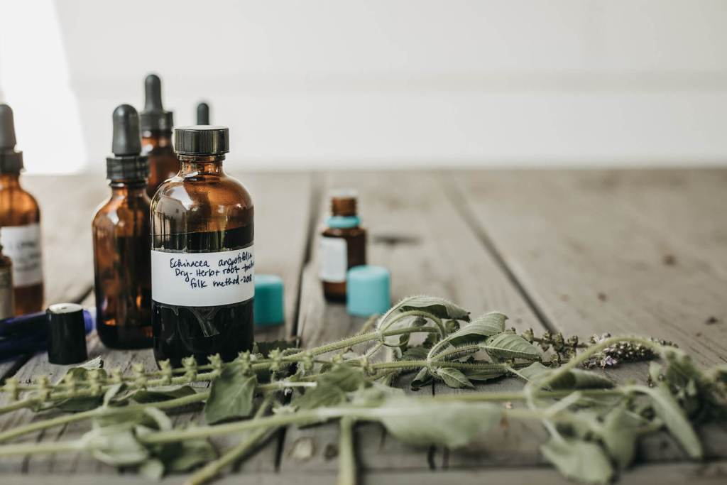 herbs and essential oil products