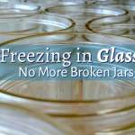 Freezing in Glass {No More Broken Jars!}