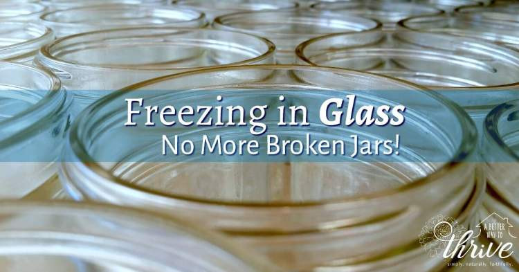 Avoid these common mistakes when freezing in glass and never find another shattered jar in your freezer again!