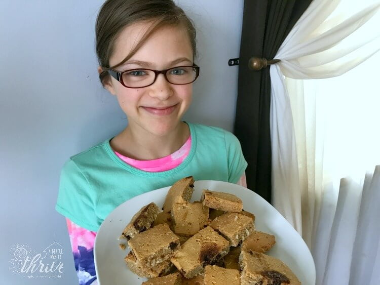 These coconut flour cookies are 100% guilt-free and so easy to make your pre-teen can do it.