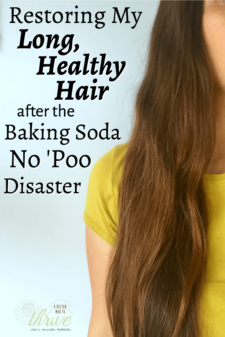 Years of baking soda no 'poo left my hair dry, brittle, damaged, and breaking. I was devastated, but determined to get it back to its original, healthy condition. It took time, the right products, and *lots* of TLC, but my hair is soft, strong, and shiny once again!  via @abttrway2thrive