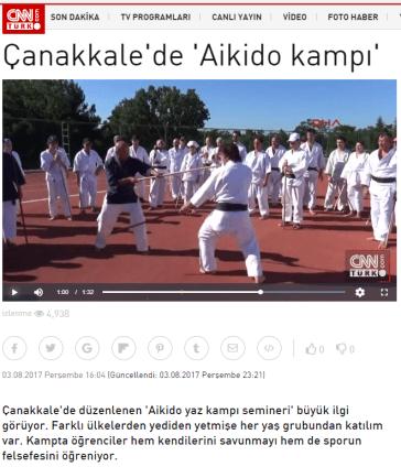 CNNTürk, 03.08.2017