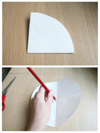 Regendruppel tutorial - stap 3