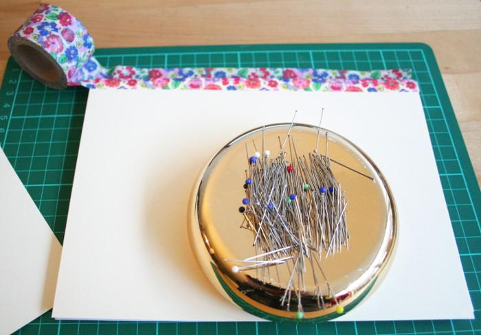 Boekbinden met washi tape