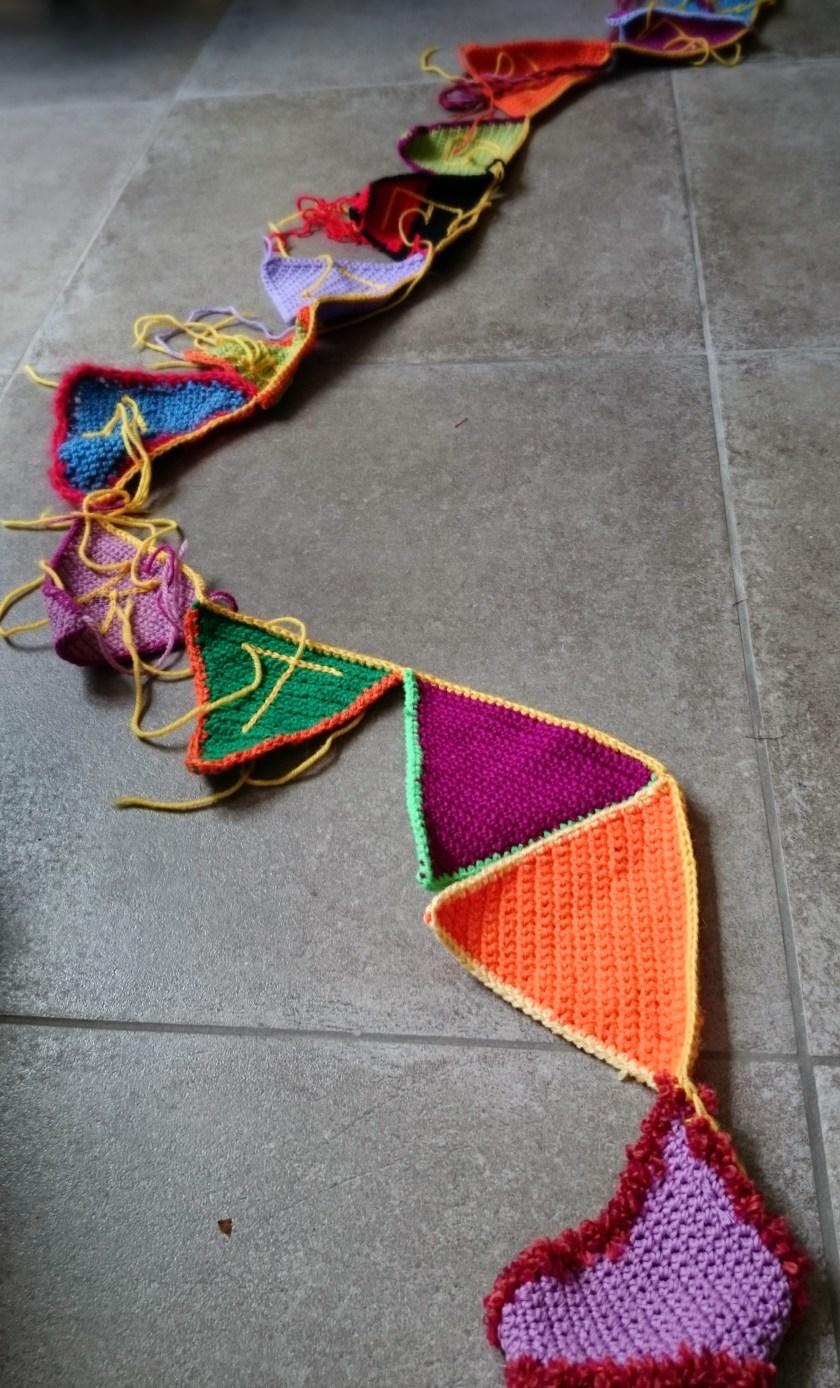 Vlaggenlijn Radio Crochet