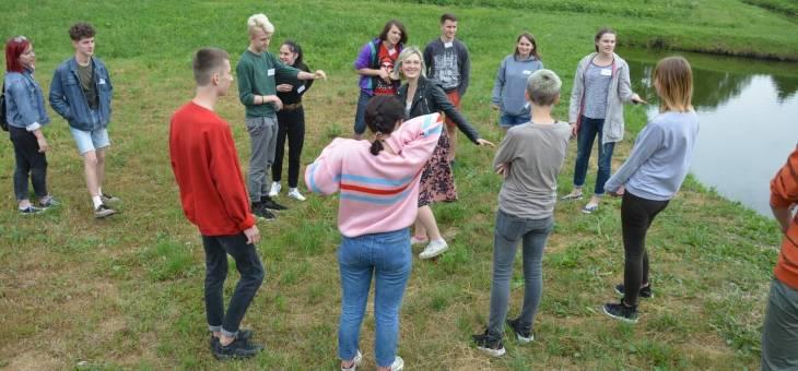 На тимбилдинге в Гродно обсуждали ценности