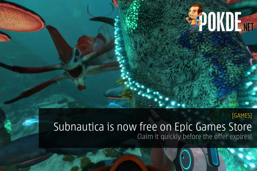 Subnautica Is Now Free On Epic Games Store — Claim It ...