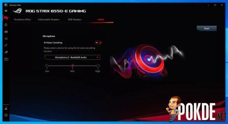 ROG Strix B550-E Gaming AI Noise Cancellation