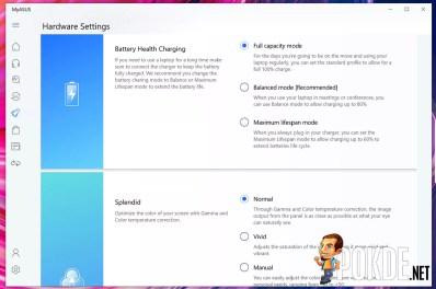 ASUS ProArt StudioBook One Review Link To MyASUS settings