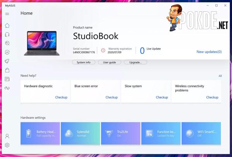 ASUS ProArt StudioBook One Review MyASUS