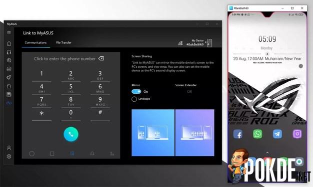 ASUS ZenBook 14 UX425 review Link to MyASUS