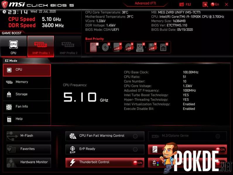 MSI Click BIOS 5 EZ Mode