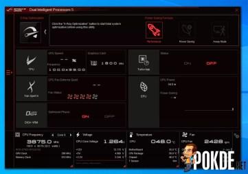 ROG Strix B550-E Gaming AI Suite Digi+