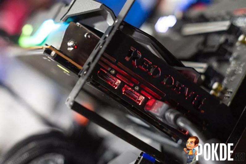 Illuminated rear I/O