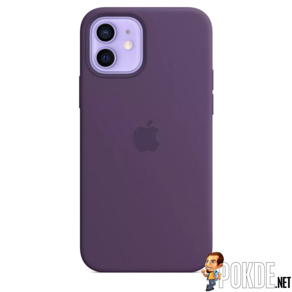 Amethyst Silicone Case with MagSafe