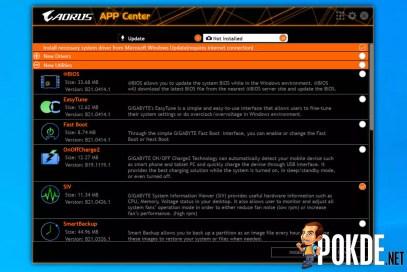 GIGABYTE Z590 AORUS Pro AX Review AORUS APP Center