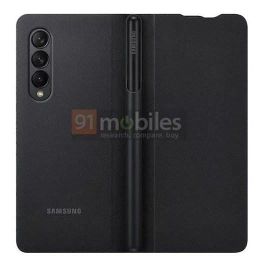 Samsung Galaxy Z Fold3 Leaks Shows How You Can Store S Pen