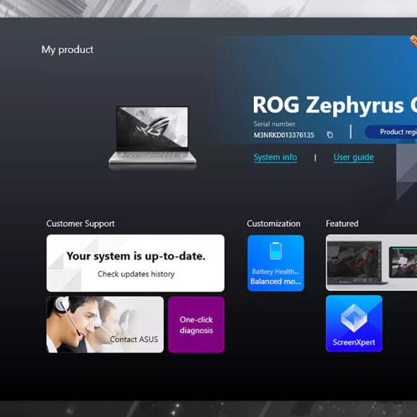 ASUS ROG Zephyrus G14 2021 Review MyASUS