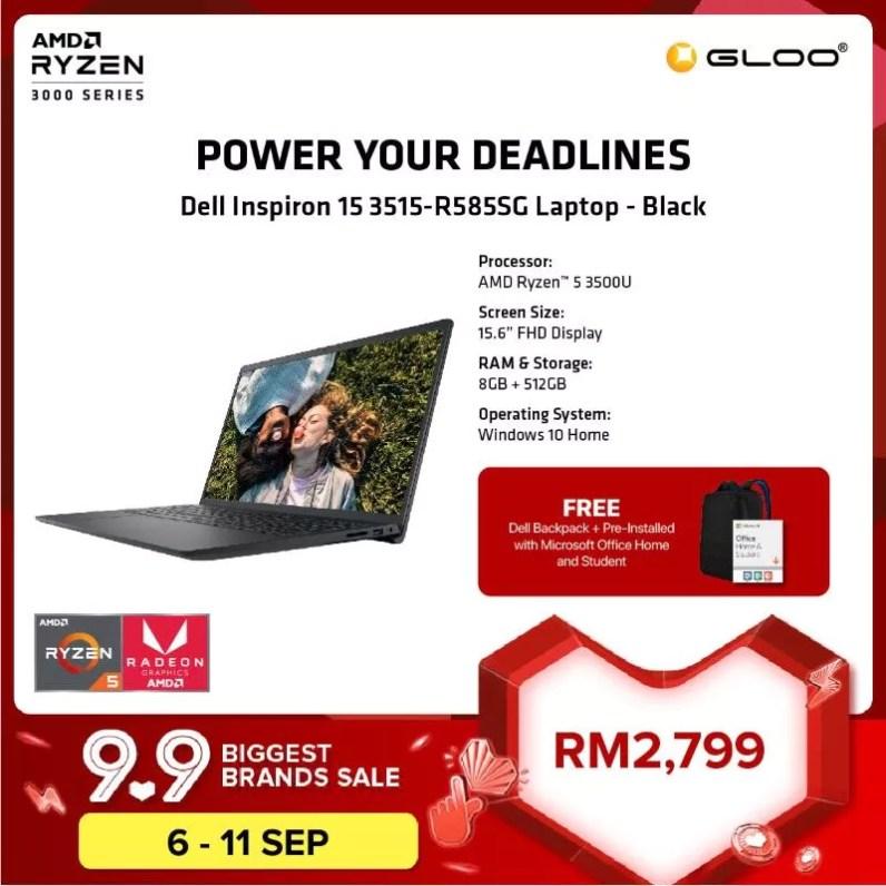 GLOO Dell Inspiron 15 AMD Ryzen 2