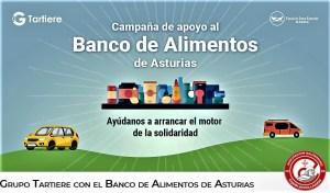 FINETWORK COLABORA CON LA CAMPAÑA GRUPO TARTIERE A FAVOR DEL BANCO DE ALIMENTOS DE ASTURIAS