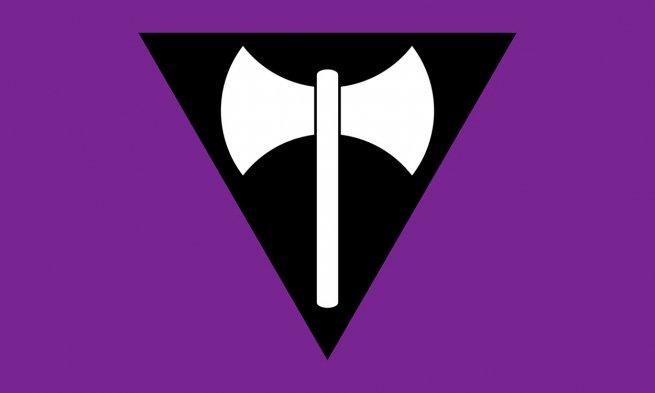 Labrys Bandeira do Orgulho Lésbico