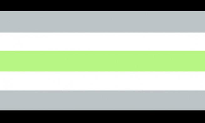 Bandeira da ausência de gênero