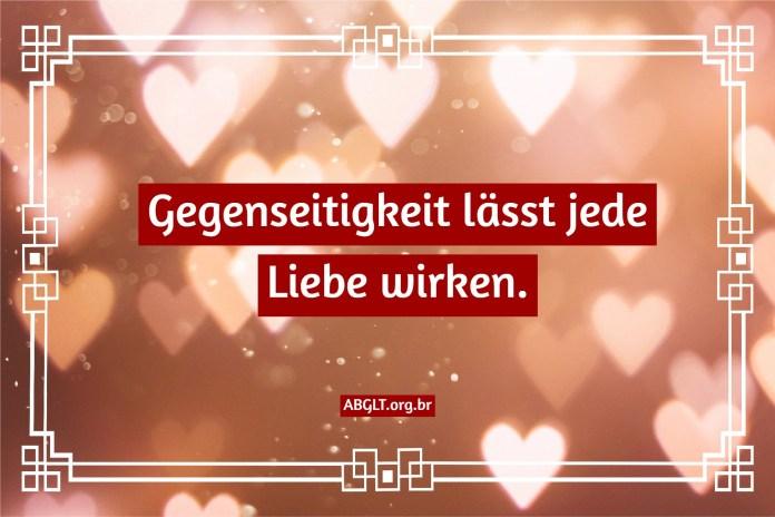 Liebessätze und Botschaften