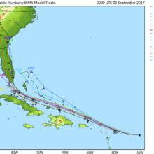 Hurricane Irma preparations