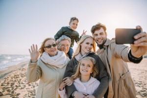 Multigenerational family Lyman