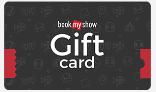 15% off on BookMyShow E-Gift Voucher