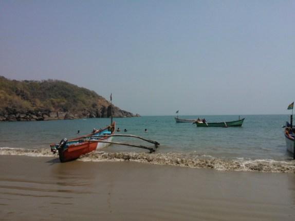 View from Honeymoon island