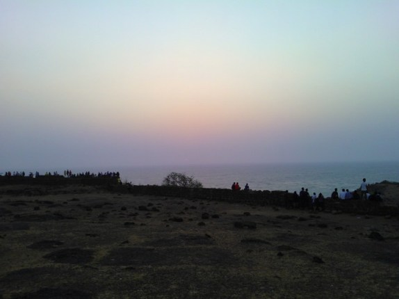 Sunset at Fort Chaprona - 'Dil Chahta Hai'