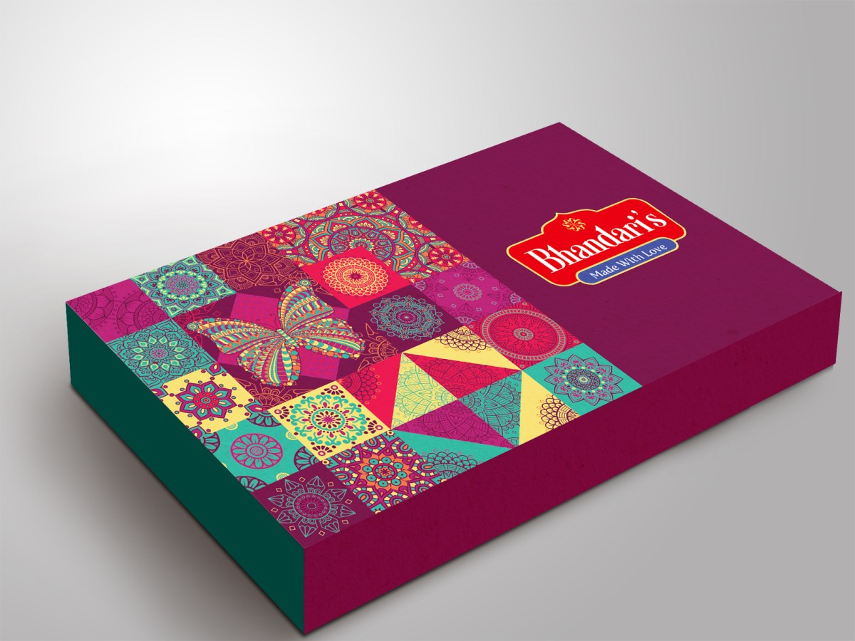 Sweet Box Packaging Design, Creative Traditional box design , Ethinic Delhi
