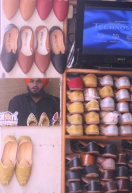 One can shop for shoes here. Starts at Rs. 300