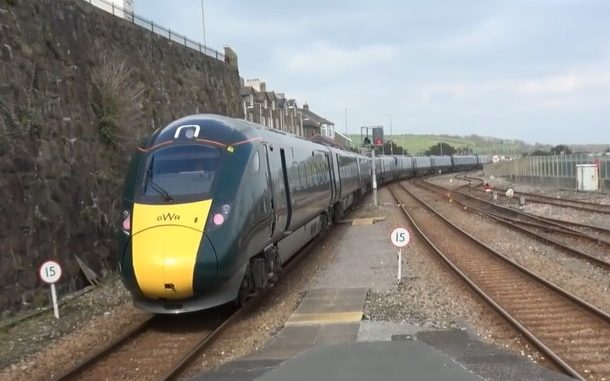 The New Trains arriving for Penzance station car hire